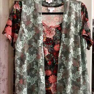 Lularoe Large Carly & Joy Outfit